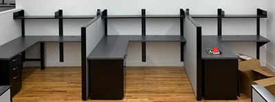 Office Desk Assembly - Image